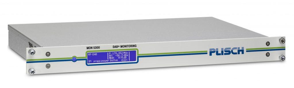 DAB+ monitoring receiver